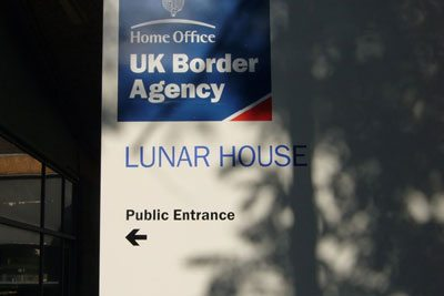 UK Border Agency Digitisation Transformation Success